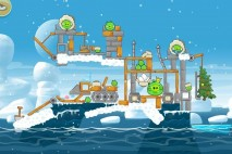 Angry Birds Seasons Arctic Eggspedition Level 1-25 Walkthrough