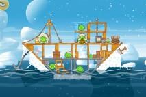 Angry Birds Seasons Arctic Eggspedition Level 1-8 Walkthrough
