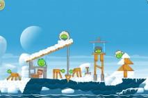 Angry Birds Seasons Arctic Eggspedition Level 1-9 Walkthrough