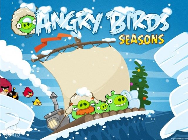 Angry Birds Seasons Arctic Eggspedition Episode Teaser Image
