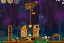 Angry Birds Free 3 Star Walkthrough Level 26-4