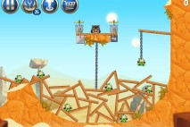 Angry Birds Star Wars 2 Escape to Tatooine Level B2-S3 Walkthrough