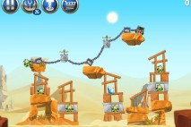 Angry Birds Star Wars 2 Escape to Tatooine Level B2-S4 Walkthrough