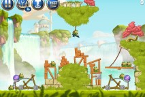 Angry Birds Star Wars 2 Naboo Invasion Level B1-S3 Walkthrough