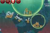 Angry Birds Star Wars 2 Rewards Chapter Level PR-16 Hologram Darth Sidious Walkthrough