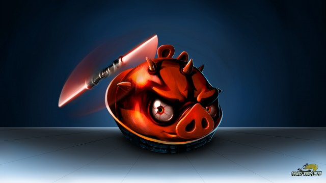 angry birds star wars darth maul wallpaper set for mobile