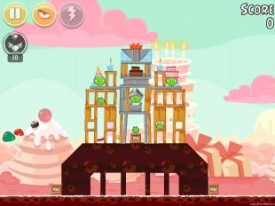 Angry Birds Birdday Party Cake 4 Level 11 Walkthrough