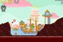Angry Birds Birdday Party Cake 4 Level 12 Walkthrough