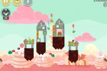 Angry Birds Free 3 Star Walkthrough Cake 4 Level 4