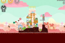 Angry Birds Birdday Party Cake 4 Level 7 Walkthrough
