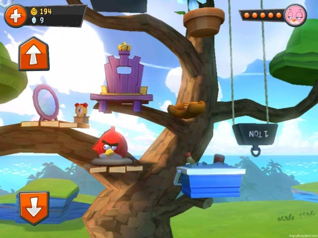 Angry Birds Go Family Tree Screenshot