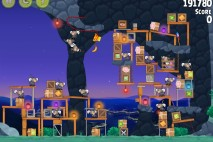 Angry Birds Rio Rocket Rumble Feather Bonus Walkthrough Level 1