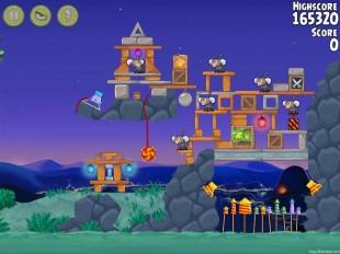 Angry Birds Rio Rocket Rumble Walkthrough Level #20