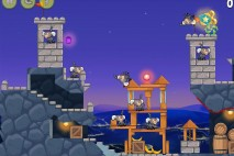 Angry Birds Rio Rocket #3 Walkthrough Level 4