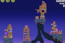 Angry Birds Rio Rocket Rumble Star Bonus Walkthrough Level 1