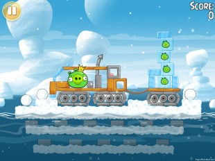 Angry Birds Seasons Arctic Eggspedition Golden Egg #47 Walkthrough