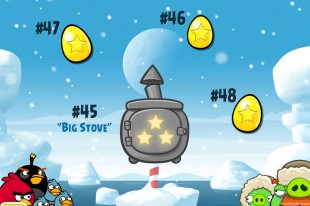Angry Birds Seasons Arctic Eggspedition Golden Eggs Walkthroughs