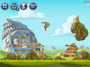Angry Birds Star Wars 2 Battle of Naboo Level B3-10 Walkthrough