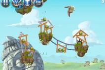 Angry Birds Star Wars 2 Battle of Naboo Level B3-12 Walkthrough