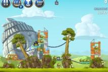 Angry Birds Star Wars 2 Battle of Naboo Level B3-3 Walkthrough