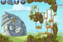 Angry Birds Star Wars 2 Battle of Naboo Level B3-4 Walkthrough