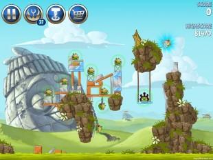 Angry Birds Star Wars 2 Battle of Naboo B3-7 Treasure Map Walkthrough