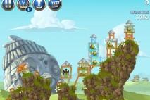 Angry Birds Star Wars 2 Battle of Naboo Level B3-8 Walkthrough