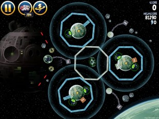 Angry Birds Star Wars Death Star 2 Level 6-10 Walkthrough