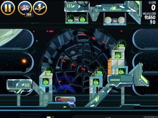 Angry Birds Star Wars Death Star 2 Level 6-20 Walkthrough