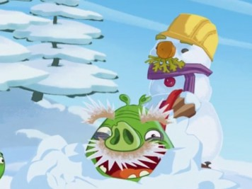 Bad Piggies Holiday Special Song Ode to Snow Featured Image