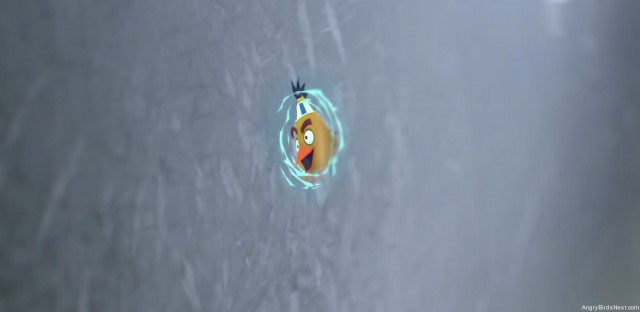 Rovio New Tricks Teaser Video Chuck Coming Through a Portal