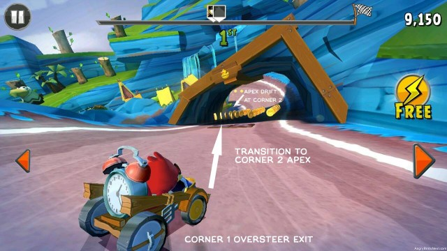 Angry Birds Go Drifting Example Guide