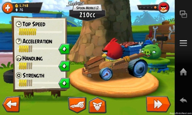 Angry Birds Go Kart Configuration