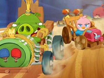 Angry Birds Go King Pig v Stella