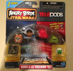 Angry Birds Star Wars 2 TELEPODs Rebels v Villains 1
