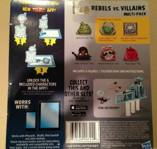 Angry Birds Star Wars 2 TELEPODs Rebels v Villains 2