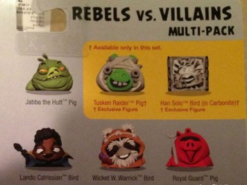 Angry Birds Star Wars 2 TELEPODs Rebels v Villains Featured