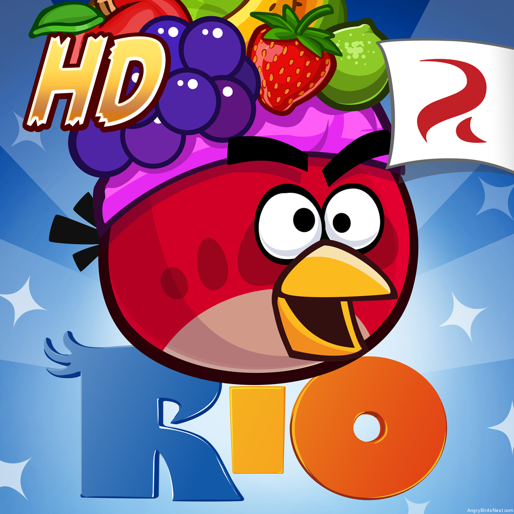 angry birds rio hd apps library. Black Bedroom Furniture Sets. Home Design Ideas