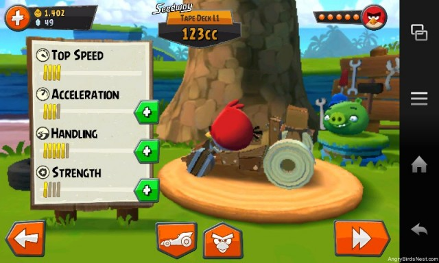 Angry Birds GO Spoon Mobile L2