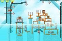 Angry Birds Rio High Dive Feather Bonus Walkthrough Level 1