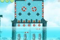 Angry Birds Rio High Dive Feather Bonus Walkthrough Level 2