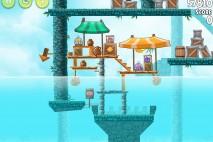 Angry Birds Rio High Dive Walkthrough Level #1