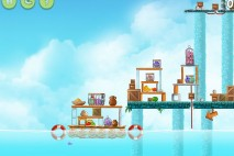 Angry Birds Rio High Dive Walkthrough Level #10