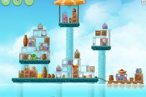 Angry Birds Rio High Dive Walkthrough Level #11