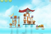 Angry Birds Rio High Dive Walkthrough Level #12