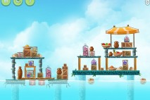 Angry Birds Rio High Dive Walkthrough Level #14