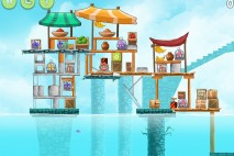 Angry Birds Rio High Dive Walkthrough Level #15