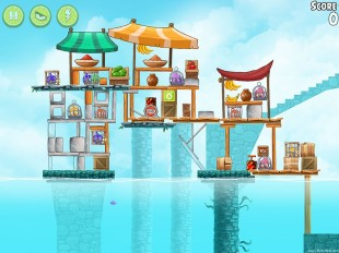 Angry Birds Rio Chest #8 Walkthrough Level 15