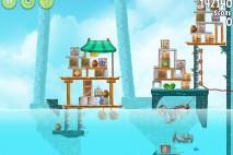 Angry Birds Rio High Dive Walkthrough Level #17