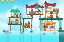 Angry Birds Rio High Dive Walkthrough Level #19